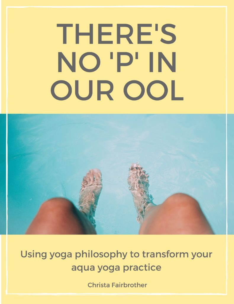 cover of the book there's no p in our ool