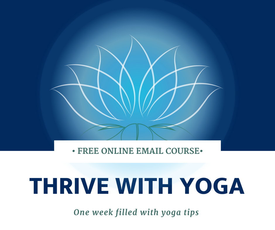 thrive with yoga