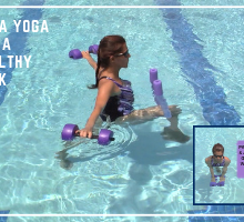 aqua yoga for a healthy back