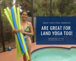 Using Pool Noodles in Your Land Yoga Practice