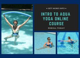 aqua yoga online course examples of aqua yoga practice