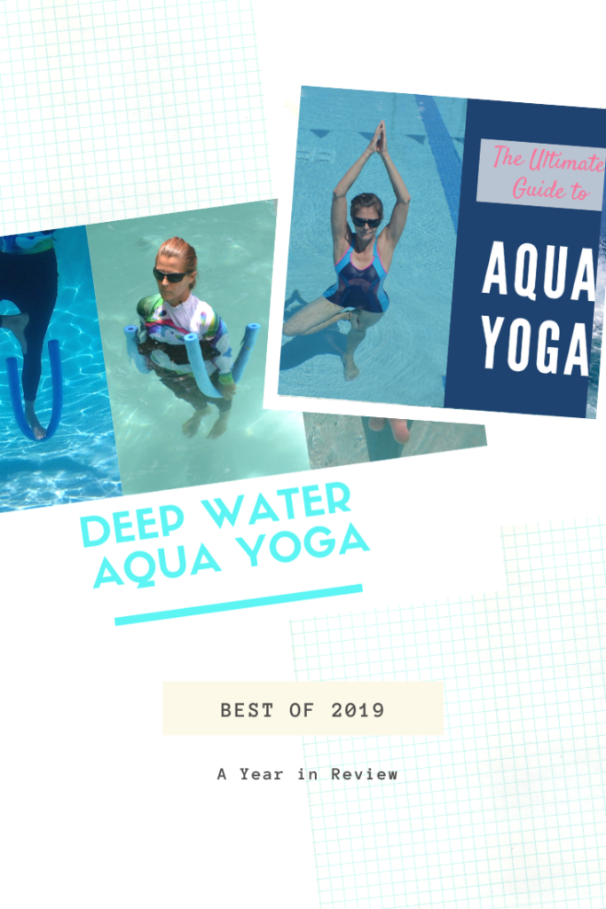 scrapbook image of the best of aqua yoga 2019