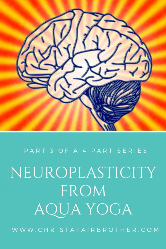 Neuroplasticity from aqua yoga