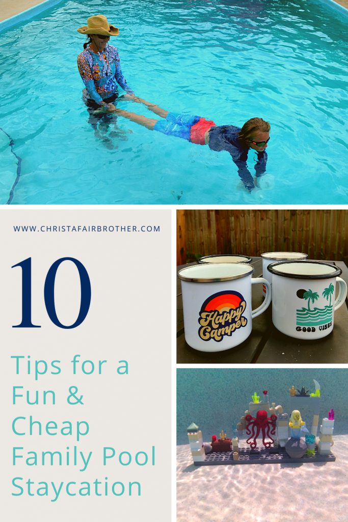 pool images to illustrate how to have a cheap family pool staycation